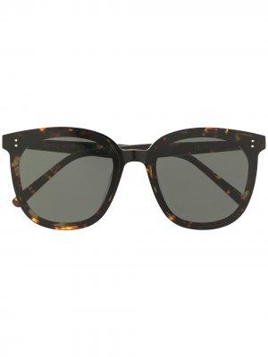 Солнцезащитные очки My Ma Gentle Monster. Цвет: черный