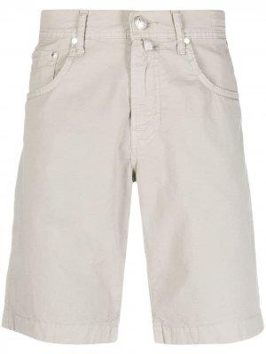 Джинсовые шорты Jacob Cohen. Цвет: нейтральные цвета