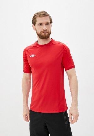 Футболка спортивная Umbro. Цвет: красный
