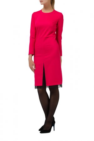 Платье Remix. Цвет: бордовый