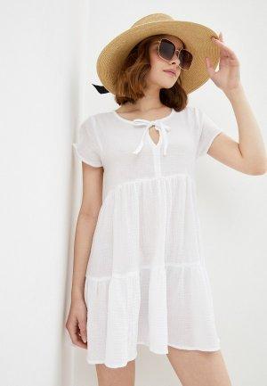 Платье пляжное Cotton On. Цвет: белый