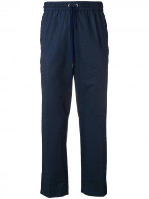 Укороченные зауженные брюки Kenzo. Цвет: синий