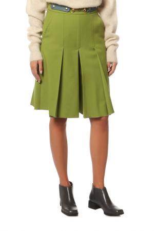 Юбка-шорты Gucci. Цвет: зеленый