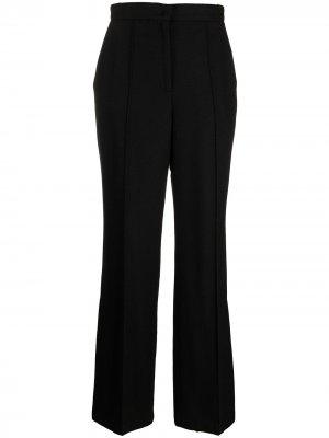 Расклешенные брюки с разрезами 12 STOREEZ. Цвет: черный