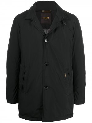 Куртка на пуговицах Moorer. Цвет: черный