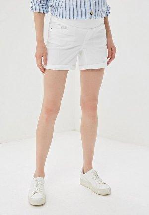 Шорты джинсовые Dorothy Perkins Maternity. Цвет: белый