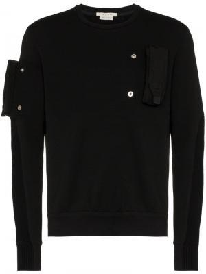 Свитшот с отстегивающимися карманами 1017 Alyx 9SM. Цвет: черный