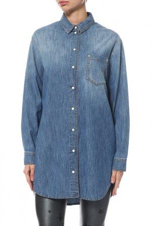 Рубашка джинсовая Alexander Terekhov. Цвет: 403