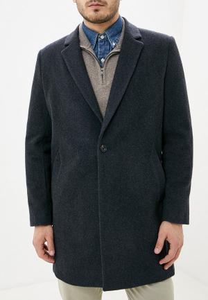 Пальто French Connection. Цвет: серый