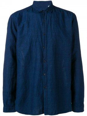 Рубашка Rockwell Oliver Spencer. Цвет: синий