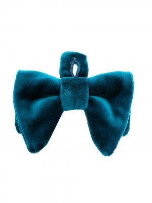 Velvet bow tie Gucci Kids. Цвет: синий