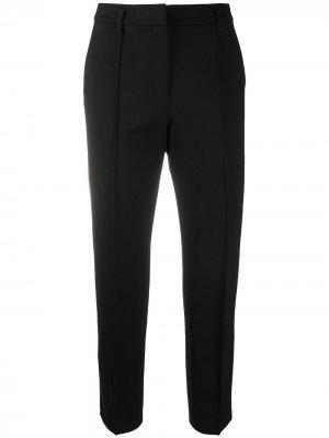 Укороченные брюки строгого кроя Dorothee Schumacher. Цвет: черный