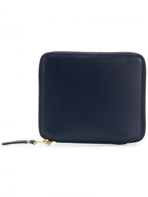 Zip around wallet Comme Des Garçons. Цвет: синий