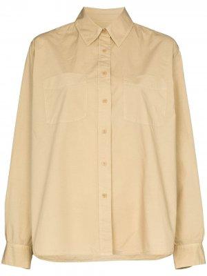 Рубашка Kelsey на пуговицах Nili Lotan. Цвет: нейтральные цвета