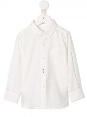 Рубашка на пуговицах Familiar. Цвет: белый