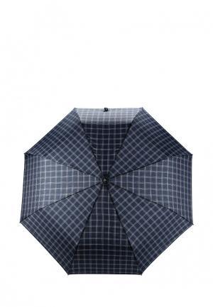 Зонт складной Fabretti. Цвет: синий