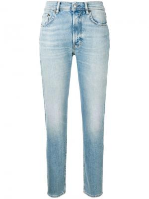 Melk high waist jeans Acne Studios. Цвет: синий