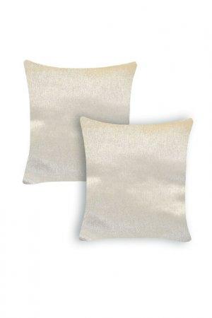 Комплект декоративных подушек ORNETTA. Цвет: светло-бежевый
