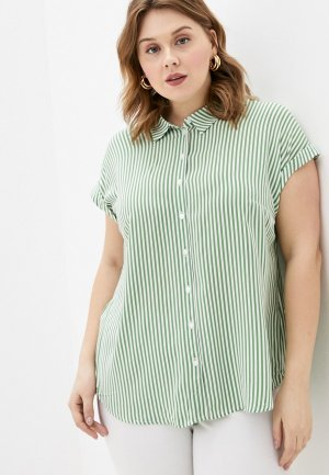 Блуза Tom Tailor. Цвет: зеленый