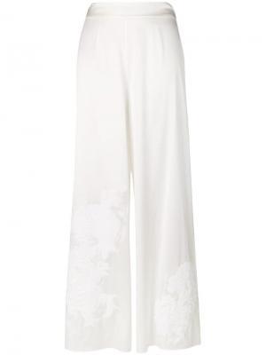 Пижамные брюки Primrose Hill Myla. Цвет: белый