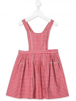 Платье-сарафан Donnington Caramel. Цвет: красный