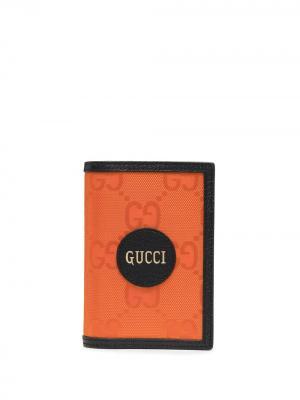 Обложка для паспорта  Off Grid Gucci. Цвет: оранжевый