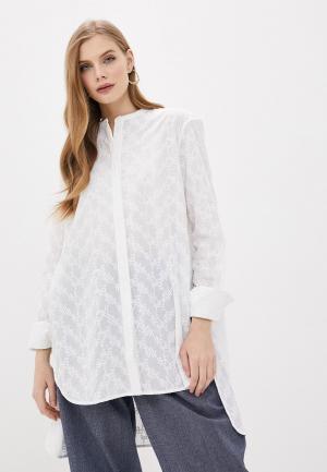 Блуза By Malene Birger. Цвет: белый