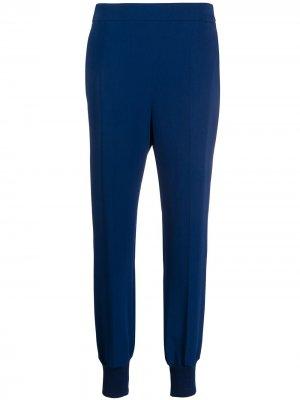 Зауженные брюки Stella McCartney. Цвет: синий