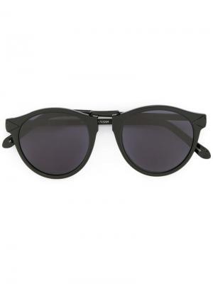 Солнцезащитные очки Hemingway Karen Walker. Цвет: черный