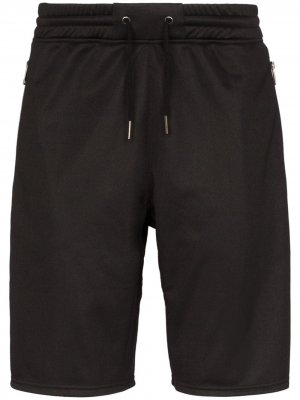 Спортивные шорты Ticker с логотипом Givenchy. Цвет: черный