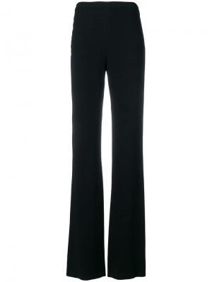Расклешенные брюки Emilio Pucci. Цвет: черный