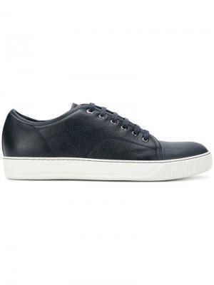 Теннисные кроссовки Lanvin. Цвет: синий