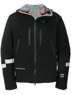 Куртка с капюшоном  66 North Soulland. Цвет: чёрный