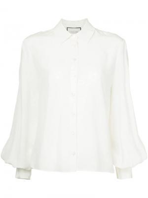 Классическая рубашка Alexis. Цвет: белый
