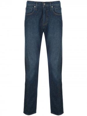 Levis: Made & Crafted зауженные джинсы 512 Levi's:. Цвет: синий