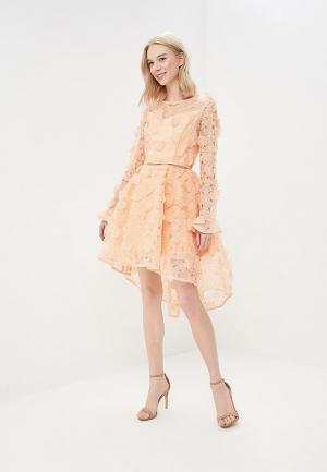 Платье True Decadence. Цвет: оранжевый