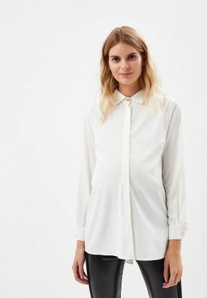 Блуза MammySize. Цвет: белый