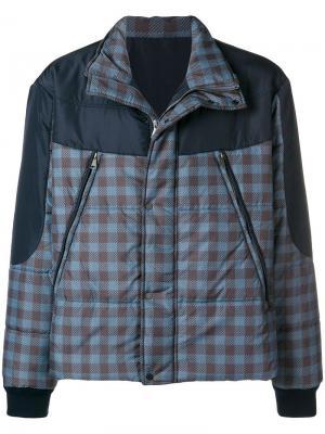Padded coat Qasimi. Цвет: синий