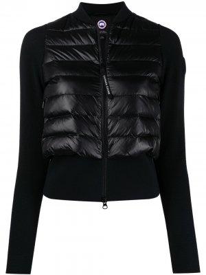 Куртка Hybridge из коллаборации с Angel Chen Canada Goose. Цвет: черный