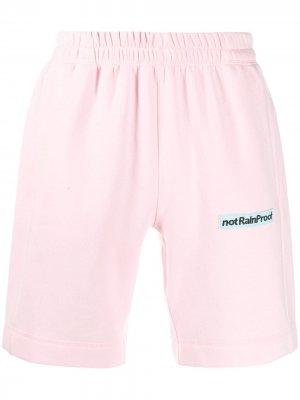 Спортивные шорты not Rain Proof Styland. Цвет: розовый