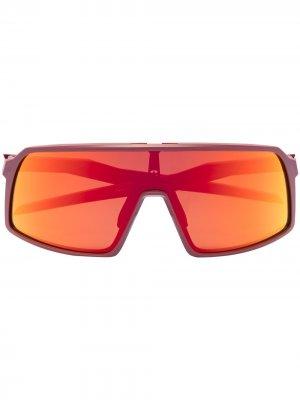 Солнцезащитные очки-маска Sutro Oakley. Цвет: красный