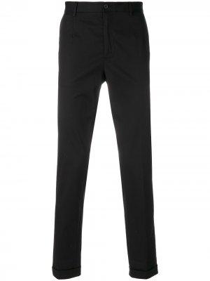 Классические брюки чинос Dolce & Gabbana. Цвет: черный