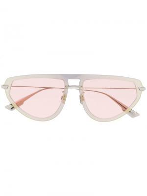 Солнцезащитные очки DiorUtlime2 Dior Eyewear. Цвет: серебристый