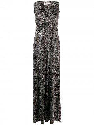 Комбинезон Zuzanne Le Petite Robe Di Chiara Boni. Цвет: коричневый