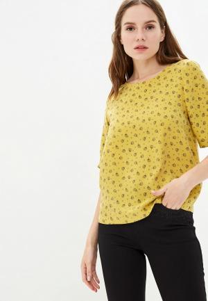 Блуза Marks & Spencer. Цвет: желтый