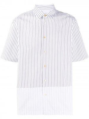 Полосатая рубашка PAUL SMITH. Цвет: белый