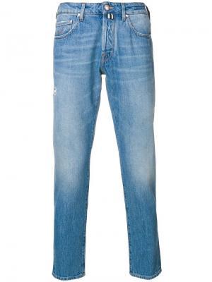 Прямые джинсы Jacob Cohen. Цвет: синий