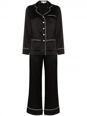 Пижама Coco Olivia von Halle. Цвет: черный