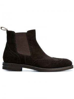 Ботинки Челси Henderson Baracco. Цвет: коричневый