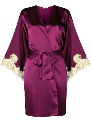 Короткий халат Gina Gilda & Pearl. Цвет: розовый
